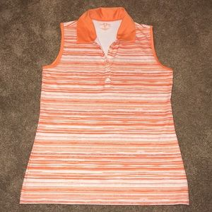 Coral Bay - Sleeveless Golf Polo shirt -